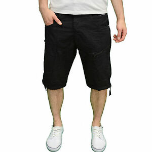 Crosshatch Mens Designer Branded Fabric Summer Shorts Available in 3 Colours