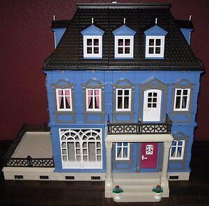 Customized Playmobil Victorian Dollhouse Mansion 5300 5305