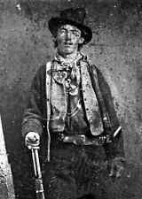 """New 5x7 Photo: William H. Bonney (McCarty), Frontier Outlaw """"Billy the Kid"""""""