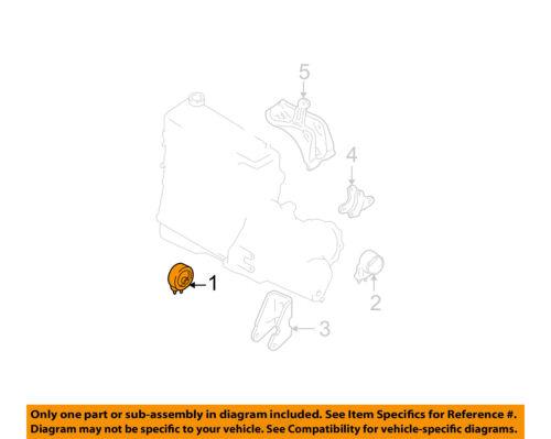 FORD OEM 00-04 Focus-Engine Motor Mount Torque Strut YS4Z6038BA