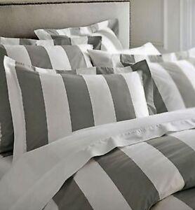 Hamptons-Doona-Duvet-Queen-Quilt-Cover-Set-Charcoal-Grey-And-White-210-x-210-cm