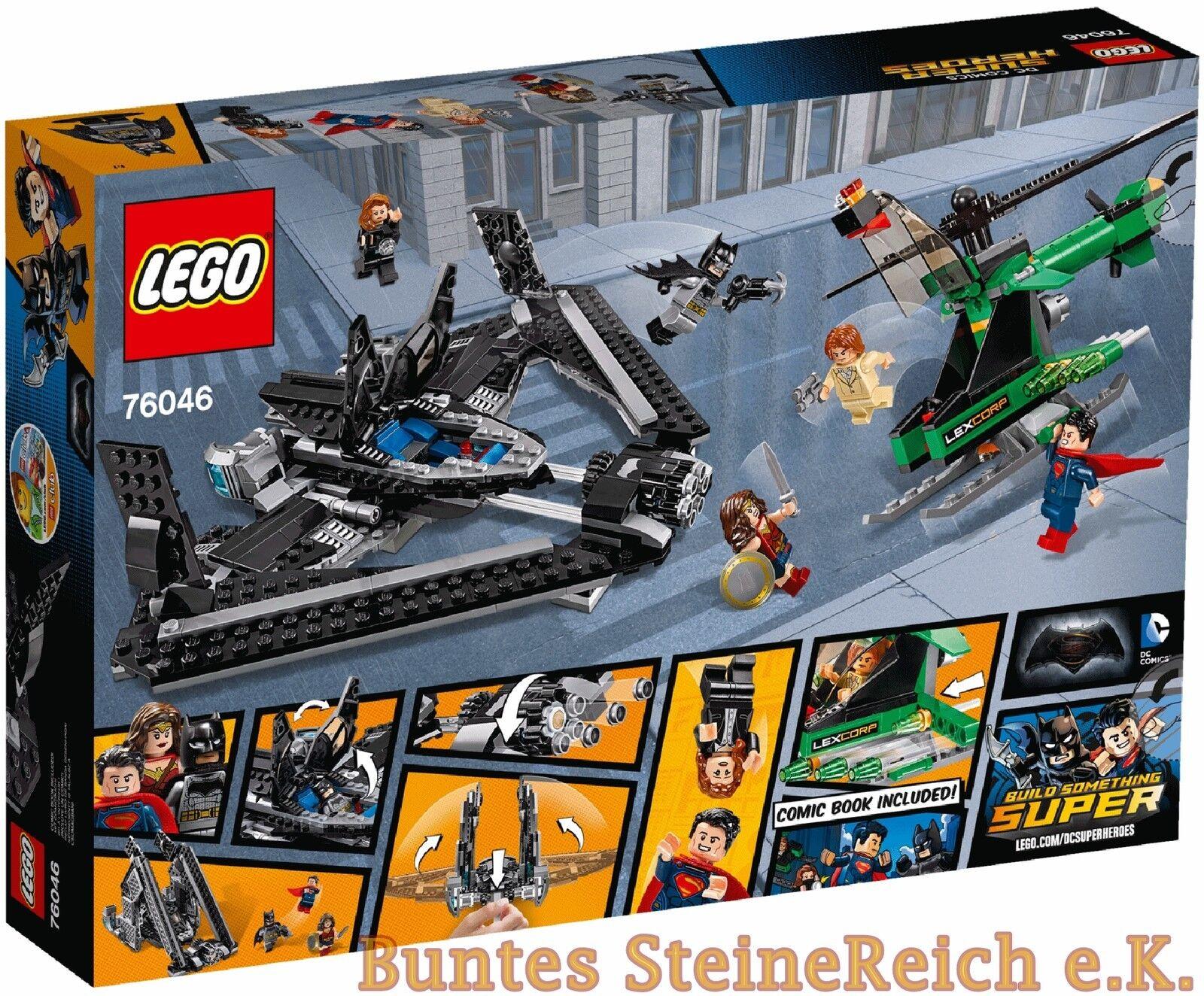 LEGO ® Super Heroes: 76046 76046 76046 Duel dans l'air & 0. -€ Expédition! NOUVEAU & NEUF dans sa boîte! 42fad3