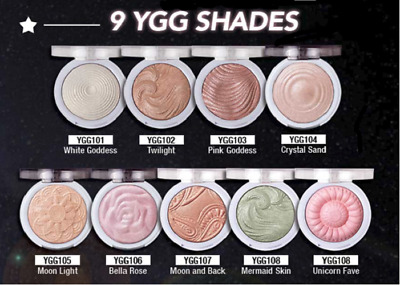 White Goddess, Twilight /& Pink Goddess for instant Glowing Skin You Glow Girl Bundle by J Cat Beauty will give you Instant soft focus GLOW Shimmering Skin Highlighter Set of 3 Shades