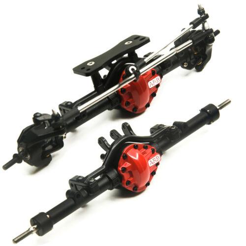 CNC Vorderachse Hinterachse Achsen Achse für 1//10 RC Auto Crawler RC 4wd D90 ARB