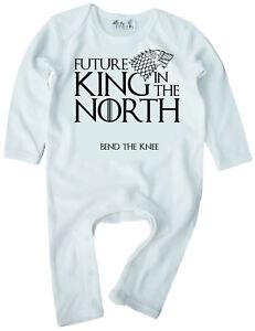 """Spiel der Throne Baby Body /"""" Zukunft König in The North /"""" Baby-Body Got Kleidung"""