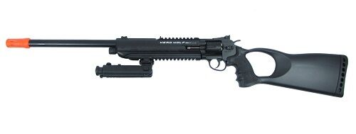 WG Herd Wolf Model 711L CO2 Airsoft Revolver Rifle
