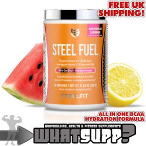 SteelFit-STEEL-FUEL-All-in-one-BCAA-amp-Hydration-Formula-Watermelon-Lemonade-330g