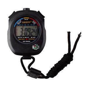 Digitale-Multifunktion-Stoppuhr-Taschenuhr-Wecker-Stopp-Zeitmesser-W0E0