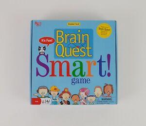 Brain Quest Smart! Game Grades 1-6 Educational Board Game New Open Box