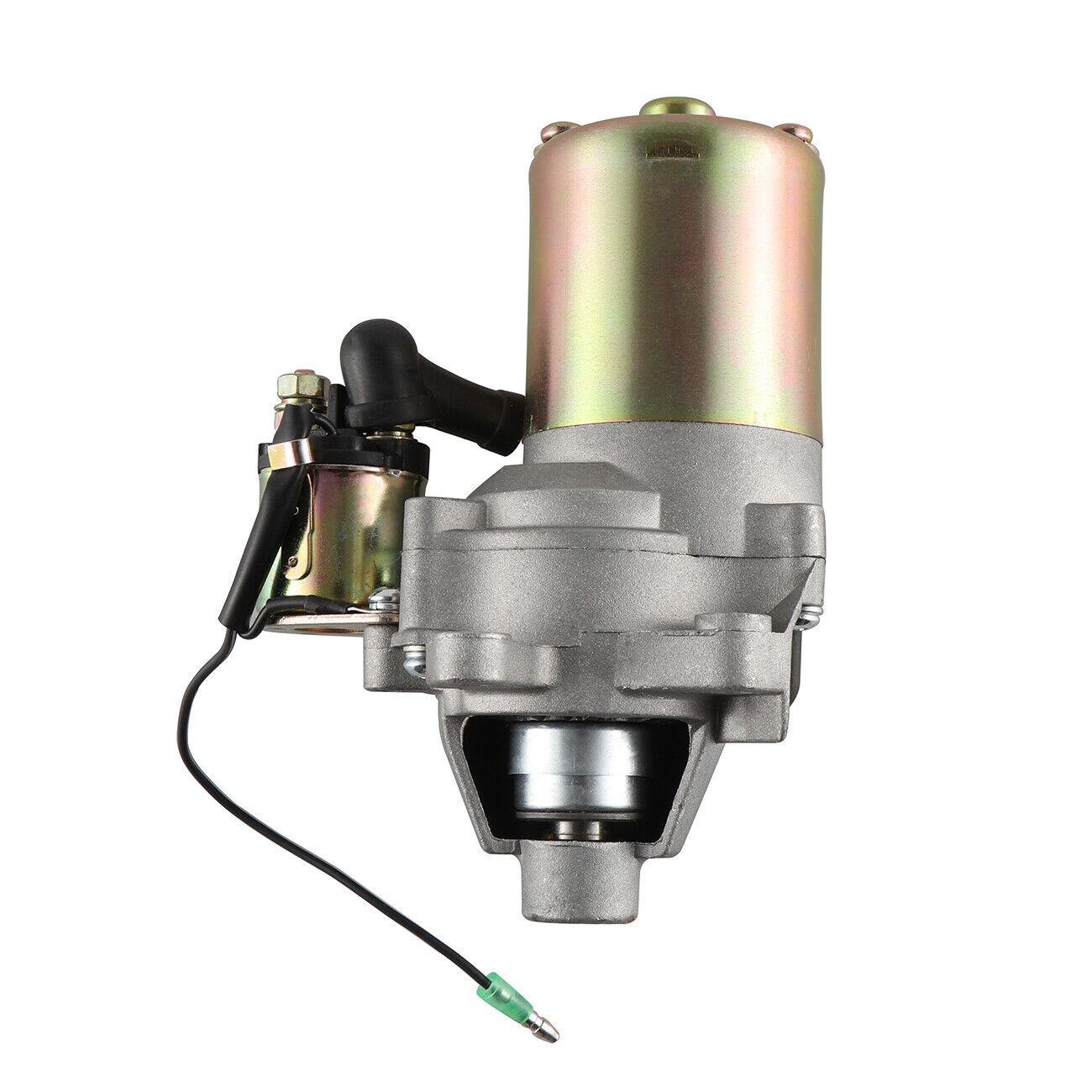 Motor de arranque con solenoide se ajusta Honda GX160 5.5HP & GX200 6.5HP