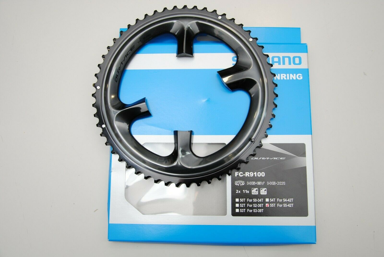 Corona SHIMANO DURA ACE 55T FC-R9100 MX 2x11Speed ( for 55x42T only )