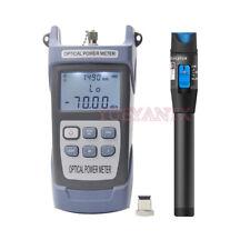 2 In1 Ftth Fiber Optical Power Meter 7010dbm 30km 10mw Visual Fault Locator