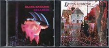 Paranoid by Black Sabbath (CD, 1990) & Black Sabbath by Black Sabbath (CD,1990)
