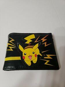 Pokémon Pikachu Manga Bifold Wallet Black