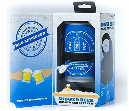 Gabba Goods Bluetooth Wireless Shower Bath Water Resistant Speaker Beer Holder