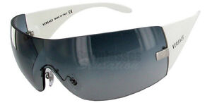 73bfd90711f Image is loading Versace-Mens-Sunglasses-2054-10008G-White-Frame-Shield-