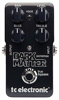 TC Electronics*DARK MATTER*Distortion Effect Guitar Pedal FREE SHIP warranty NEW