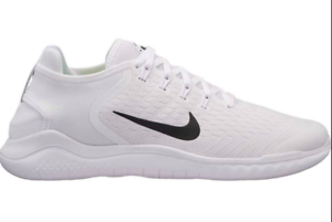 Details about NIB Nike FREE RN 2018 Men's Running Shoe 942836 100  White/Black ALL SZ-LTD QTY!