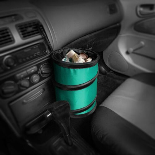 E-Z Travel Collapsable Trash Can for Cars Small