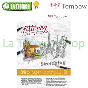 blocco aquarelle paper tombow 15 fogli 24 X 32 cm 300 gr//m carta satinata crema