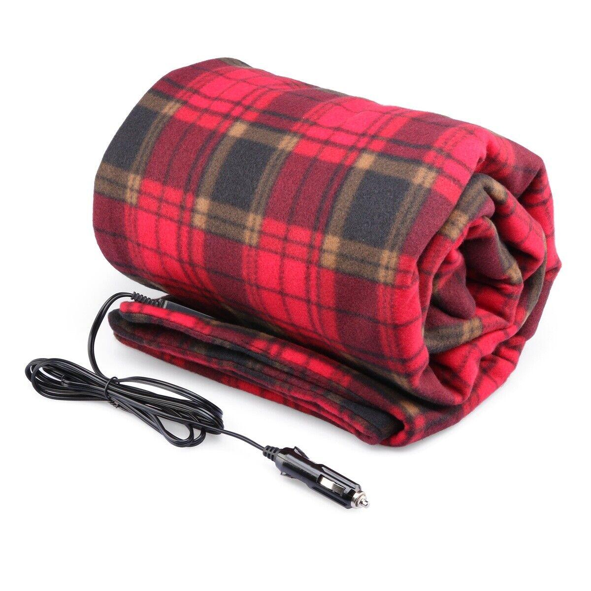 [Premium Quality] Winter Warm Car Heated Electric Blanket Heating Seat Cushion