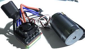 Turnigy 1/8 4s 14.8v Système sans balai - Contrôle de vitesse 100a, Moteur 2100kv