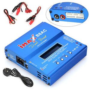 IMAX-B6AC-Lipo-NiMH-bateria-de-polimero-RC-Equilibrio-Cargador-Descargador-LCD-Digital-UK