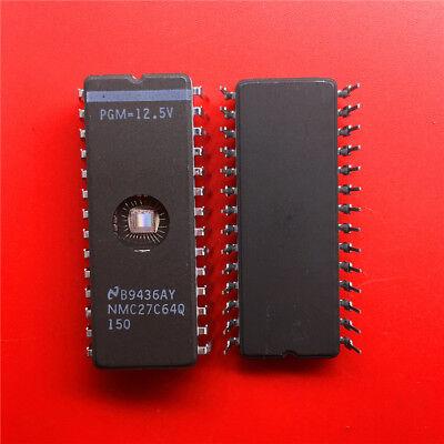 1PCS NMC27C64Q 150 64Kbit EPROM DIP28