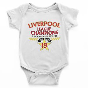 Football Liverpool Champions 2020 Babygrow Soccer