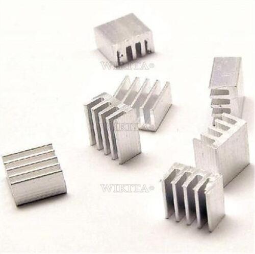 20Pcs For Stepstick A4988 Chip Led Power Heat Sink Aluminum 8.8X8.8X5MM Ic Ne gi