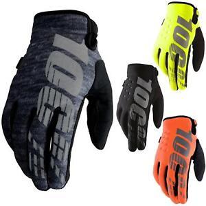100-percentuale-Brisker-Guanti-Soft-Shell-MTB-DH-MX-Motocross-Enduro-Fuoristrada