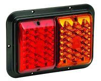Bargman Led 47-84-612 - 84/85 Series Tail Light Red/amber, Surface Mount