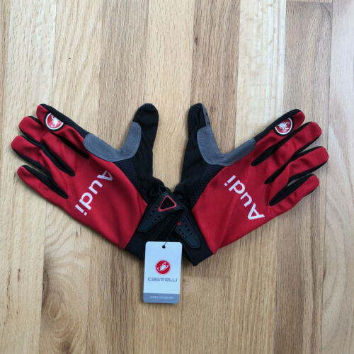 Castelli Audi Cycling Team Full Finger Team Glove XS