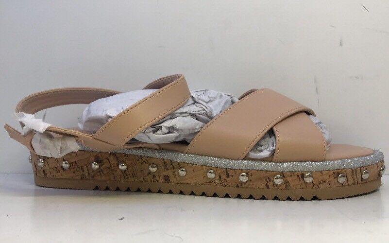 Faith Ladies Beige Jupiter Open Toe Sandals Uk 4