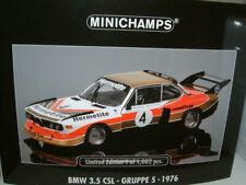 BMW 3.5 CSL N°24 24 H DE DAYTONA 1976 MINICHAMPS 1:43 10ème