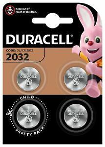 DURACELL-CR2032-Bouton-Lithium-3-V-Blister-de-4-Piles-Date-2029