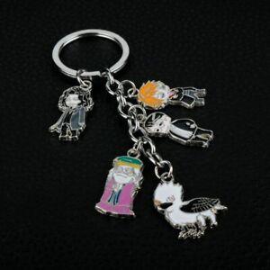 Harry-Potter-Dumbledore-Buckbeak-Enamel-Funny-Novelty-Keyring-Keychain-Gift-Bag