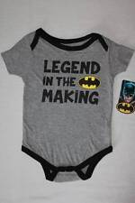 NEW Baby Boys Batman Bodysuit 6 - 9 Mo Creeper Outfit 1 Piece Superhero Costume