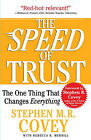 The Speed of Trust: The One Thing That Changes Everything by Stephen M. R. Covey (Paperback, 2008)