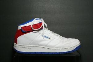 5640579e3d02 Reebok Classic Mid Workout Basketball Sneaker Men 12 Multi White USA ...