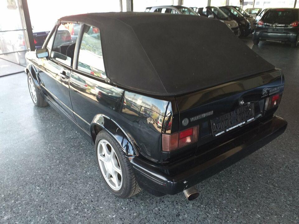 VW Golf I 1,6 Cabriolet Benzin modelår 1989 km 253000