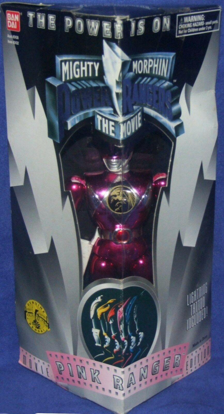 Mighty Morphin Power Rangers Power The Movie 8