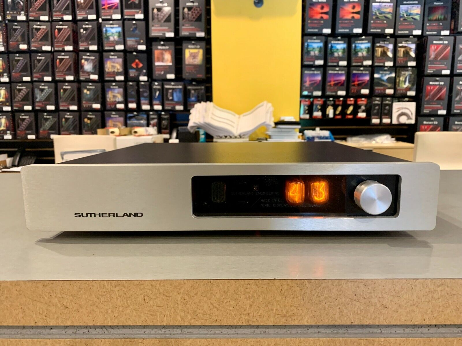 Sutherland N1 Preamplifier. Available Now for 5000.00