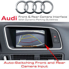 AUDI A5, Q5, A4 B8 Front & Rear Camera Input Interface + Dynamic Parking Guides