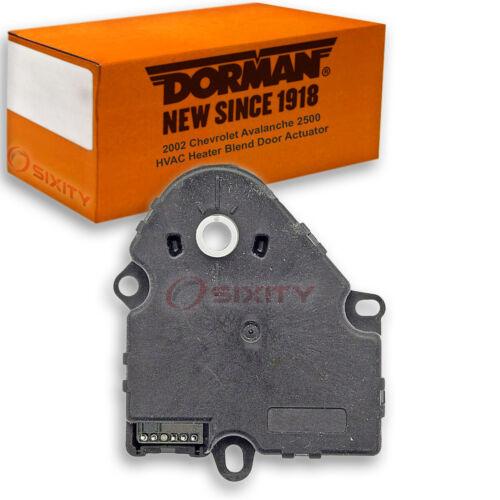 gs Dorman Main HVAC Heater Blend Door Actuator for Chevy Avalanche 2500 2002