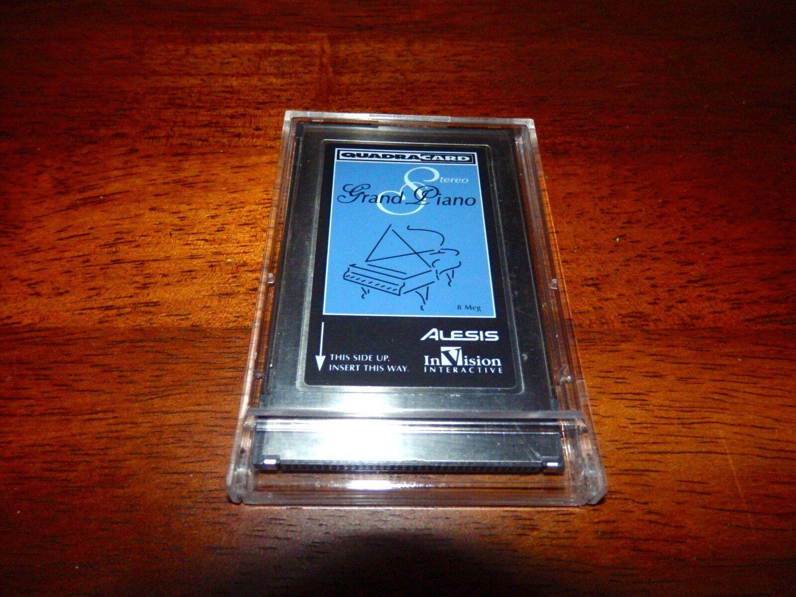 Alesis   InVision Quadra Card 8MB STEREO GRAND PIANO sehr saubere Kartenarbeit s100%