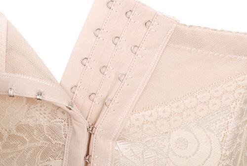 Waist Cincher Tummy Contol Hook /& Eye Vest Shaper Shapewear 040