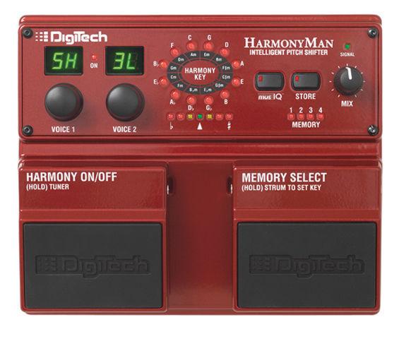 digitech harmonyman pitch shifter guitar effect pedal for sale online ebay. Black Bedroom Furniture Sets. Home Design Ideas