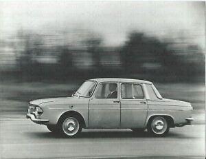 RENAULT-10-1966-Werkfoto-In-Fahrt-Pressefoto-Foto-Photo-Photograph-Auto