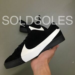 new product 20770 9a522 Details about Nike Blazer City Low XS Black / White